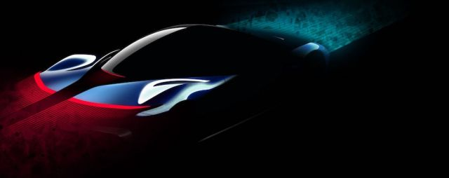 Design study for Pininfarina's 2019 PF0 Hypercar.