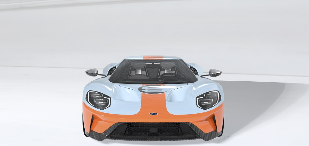 2019 Ford Gt Heritage Edition Salutes Motorsports Paint Scheme