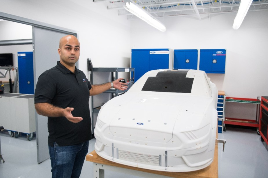 Ford Performance Technology scale model
