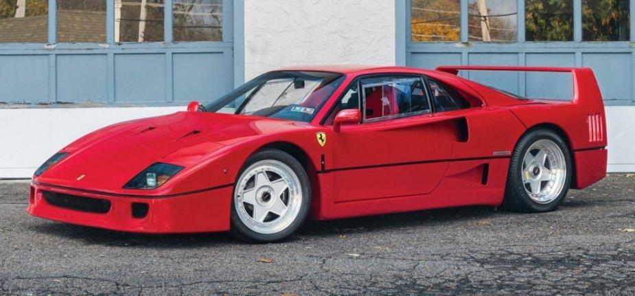 1989 ferrari f40 front corner