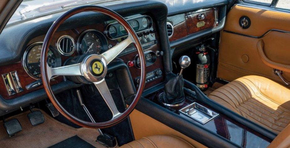 1965 Ferrari 330 GT Shooting Brake interior
