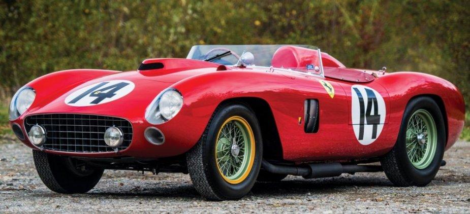 956 Ferrari 290 MM by Scaglietti front