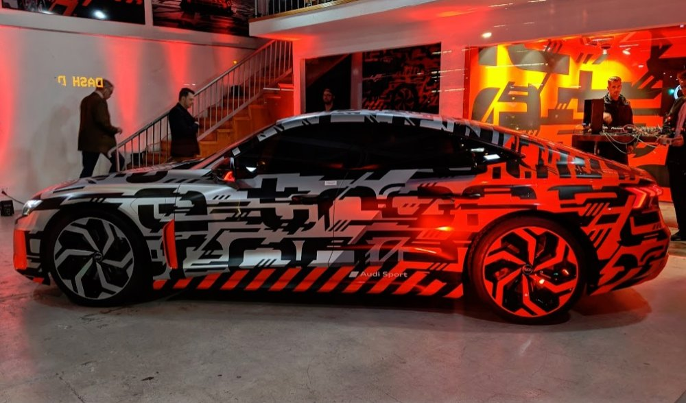 Audi Etron Gt Concept Teased In The Flesh At Trendy Ace Hotel