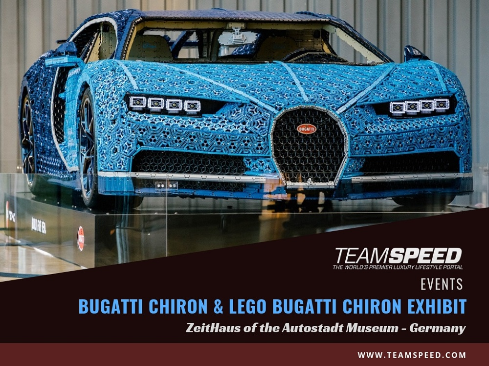 Bugatti Chiron Duo are Star Attraction at Germany's Autostadt Museum