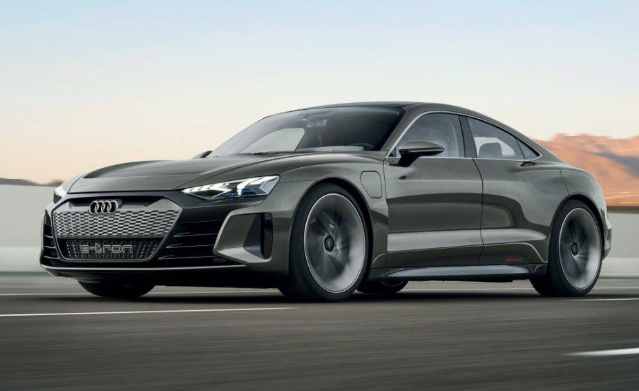 Audi eTron GT Concept Driver's Side Front