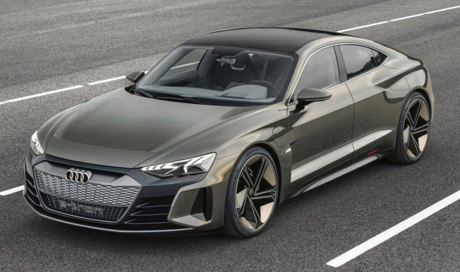 Audi eTron GT GT Concept High Angle