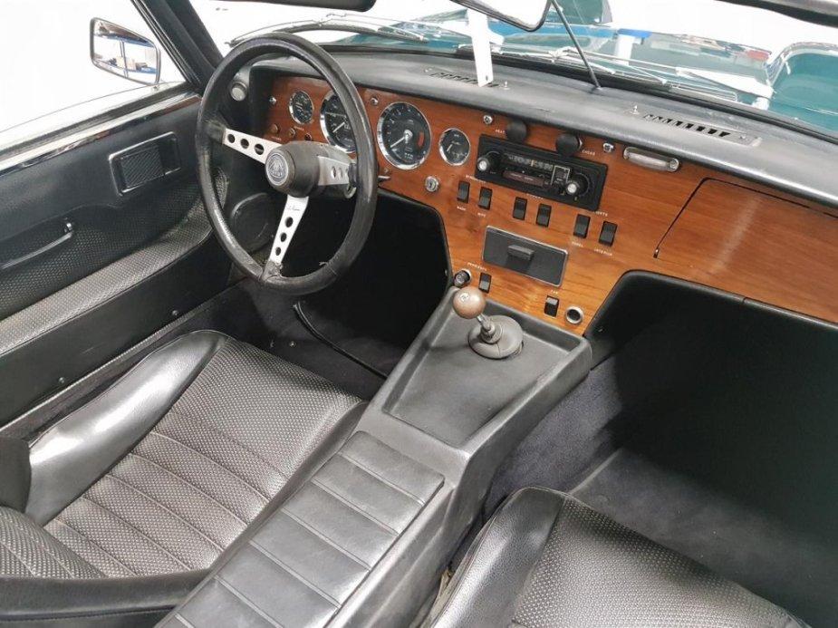 1967 Lotus Elan Interior