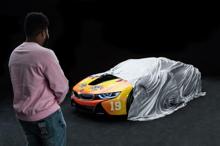 BMW i8 Roadster and Khalid