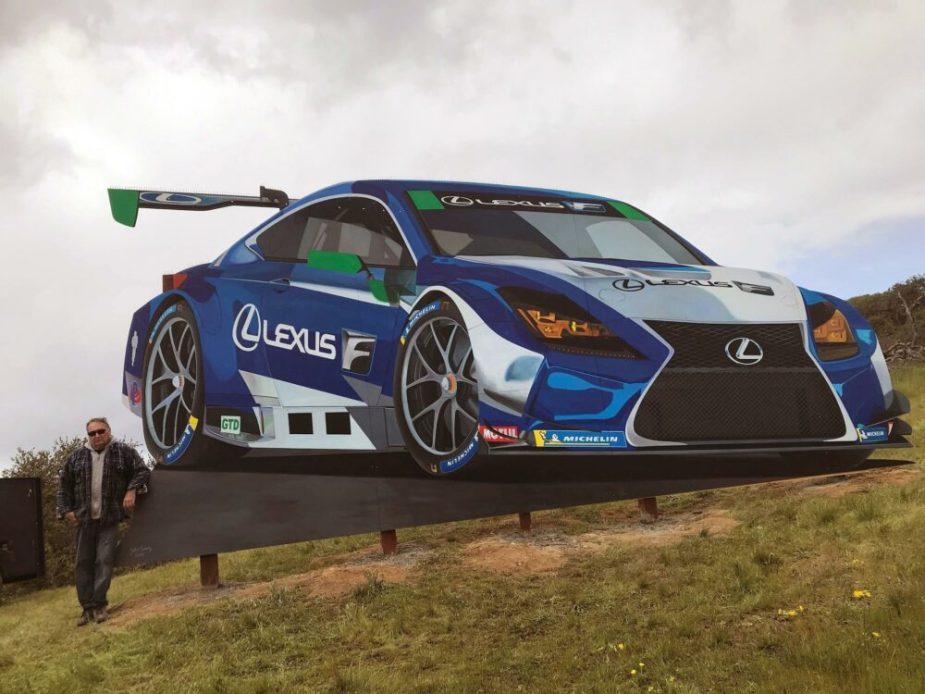 Laguna Seca Lexus RC F GT3 Art