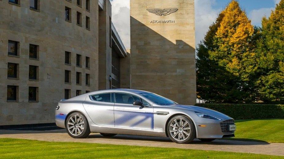 Aston Martin Rapide E Side