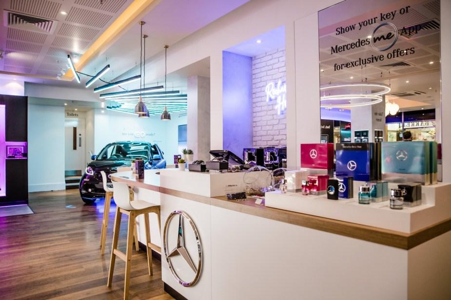 Mercedes-Benz Pop Up Shop Norwich