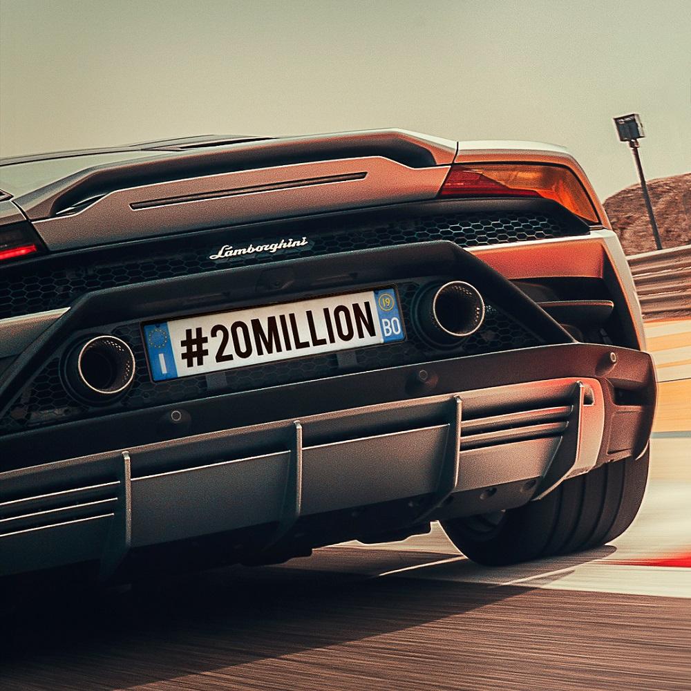 Lamborghini Instagram