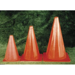 team sports equipment flouresent cones