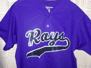 Purple team uniforms jersery