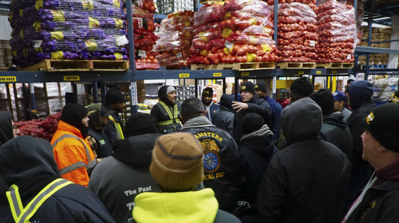 Union Contract Ratified at Hunts Point Produce Market - International Brotherhood of Teamsters