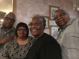 Juan with his wife Barb and their lifelong friends Yvette and her husband Bruce preparing to sightsee, eat barbeque and relax in Kansas City.