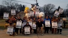 Day eight of the ULP strike at Railway Industrial Services (01.23.17)