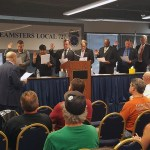 PHOTOS: At September Meeting, New Executive Board Members Sworn In, Union Honors Zeberdee Barnes and Floyd Hughes