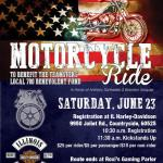 Teamsters Local 700 Motorcycle Ride to Honor Memory of Union Members' Children