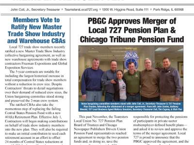 Read the Local 727 Summer Member Newsletter Now!
