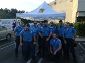 Local 769 members at Medics Ambulance of Dade County.