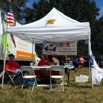 Dear Soldier booth at 2013 Local 769 South Picnic