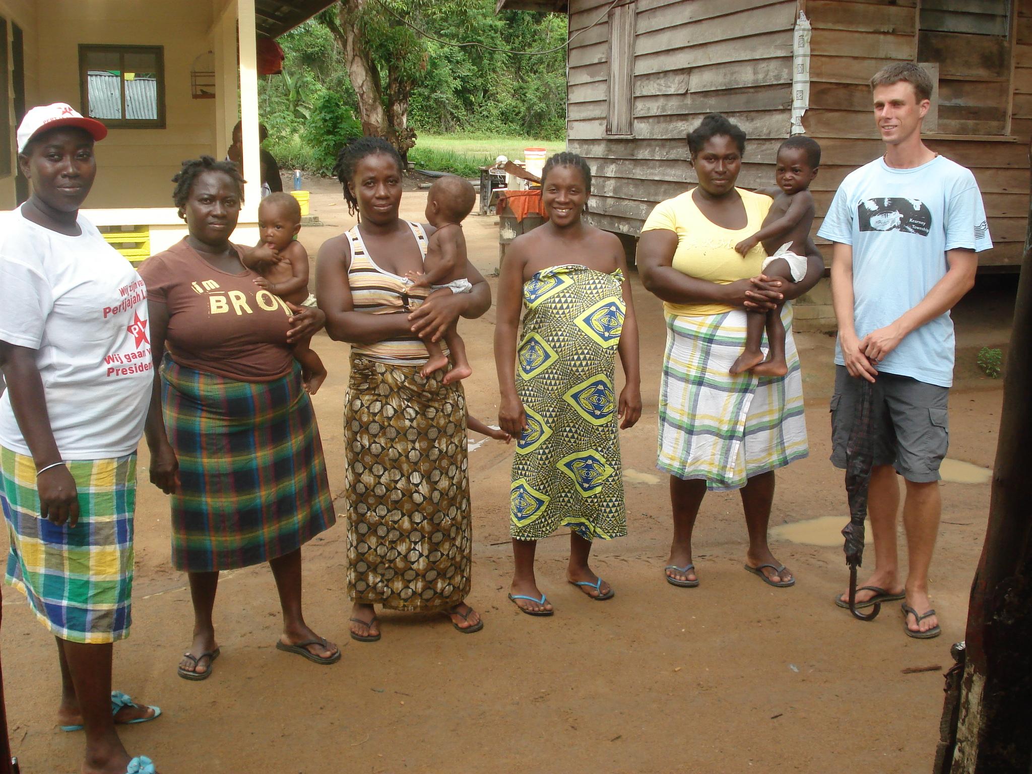 Brokopondo  Team Suriname