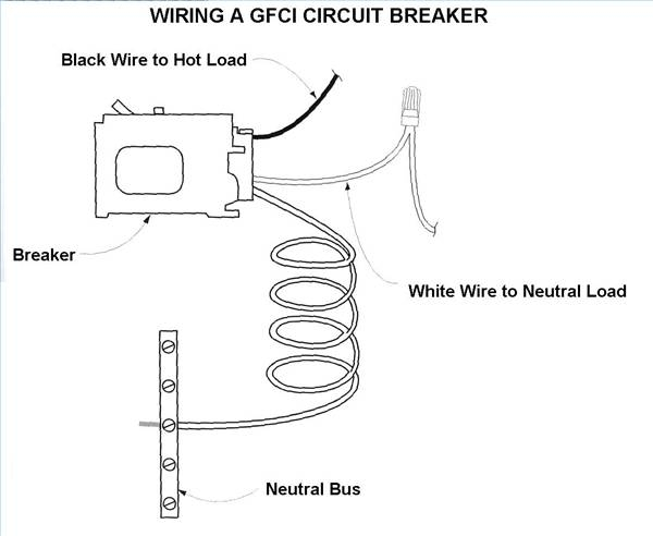 how to wire a gfci circuit