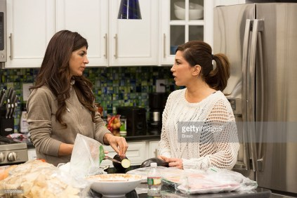 THE REAL HOUSEWIVES OF NEW JERSEY -- Pictured: (l-r) Teresa Giudice, Jacqueline Laurita -- (Photo by: Greg Endries/Bravo/NBCU Photo Bank)