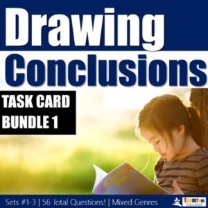 Drawing Conclusions STAAR Task Cards