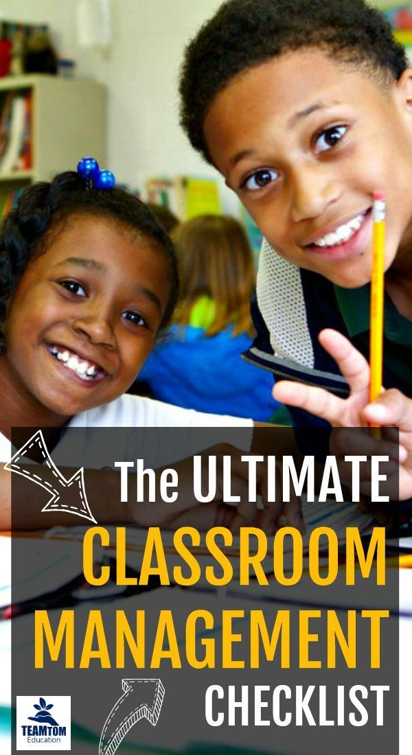 The Ultimate Classroom Management Checklist - Back to School