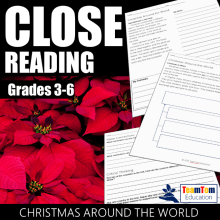 Christmas Around the World Class Reading Passages