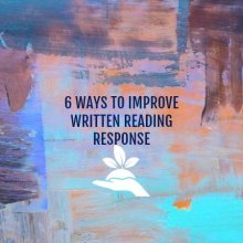 Increase reading and writing skills with these 6 simple to use reading response prompts.