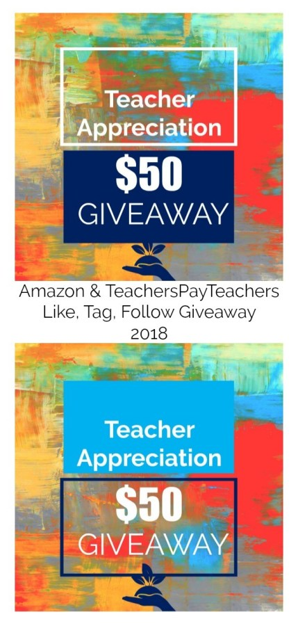 Teacher Appreciation Week Giveaway from TeamTom Education | Facebook and Instagram
