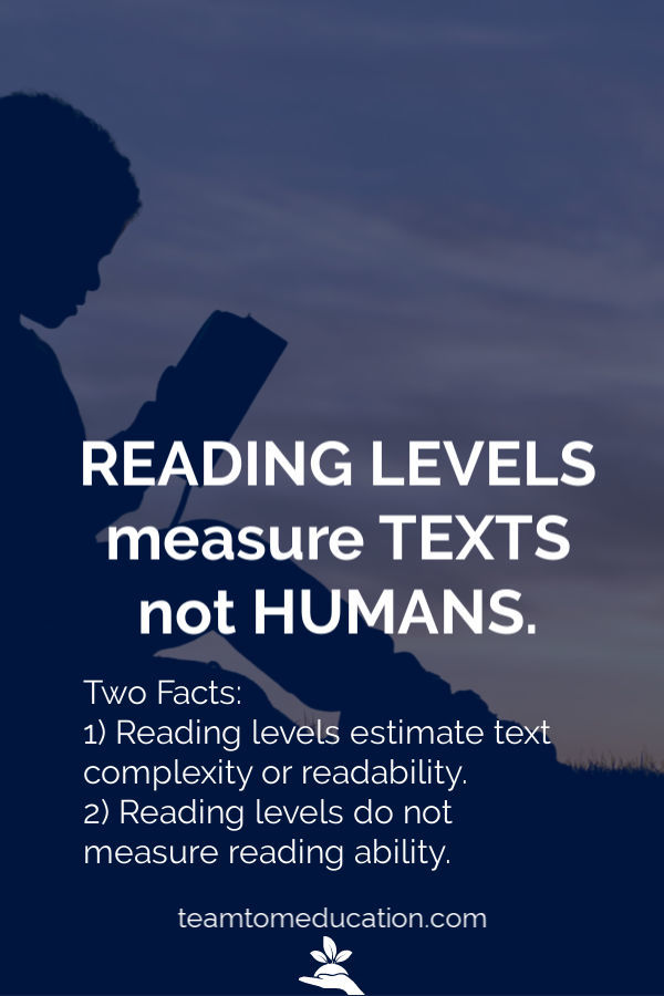 Reading Level Chart Teamtom Education