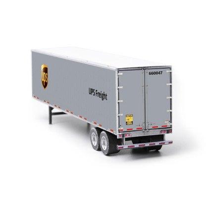 semi-trailer ups paper model kit railroad