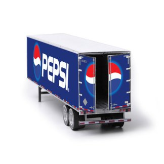 semi-trailer paper model kit pepsi