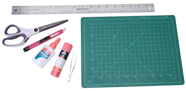 Basic tools for paper modeling