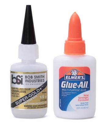 Glue for paper modeling