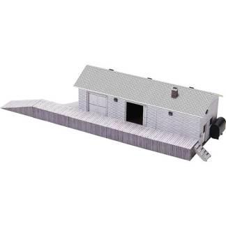 modular shops paper models