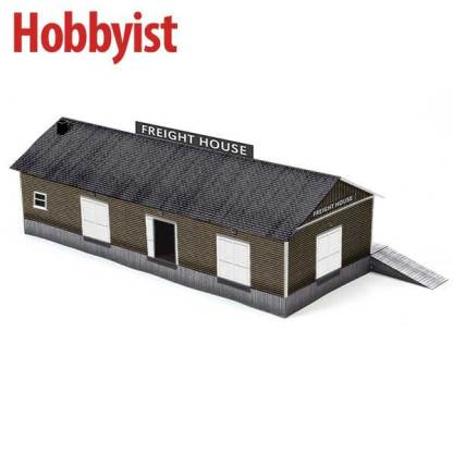 Freight House in Brown Lapboard