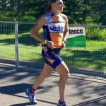 Sharon wins Calgary 70.3 2