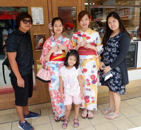 Team Uy Travels Souvenirs from Japan