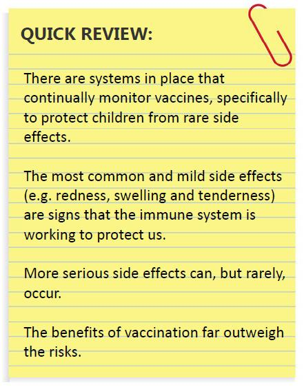 Immunology 101 Series: Why Mild Vaccine Side Effects Are a Good ...