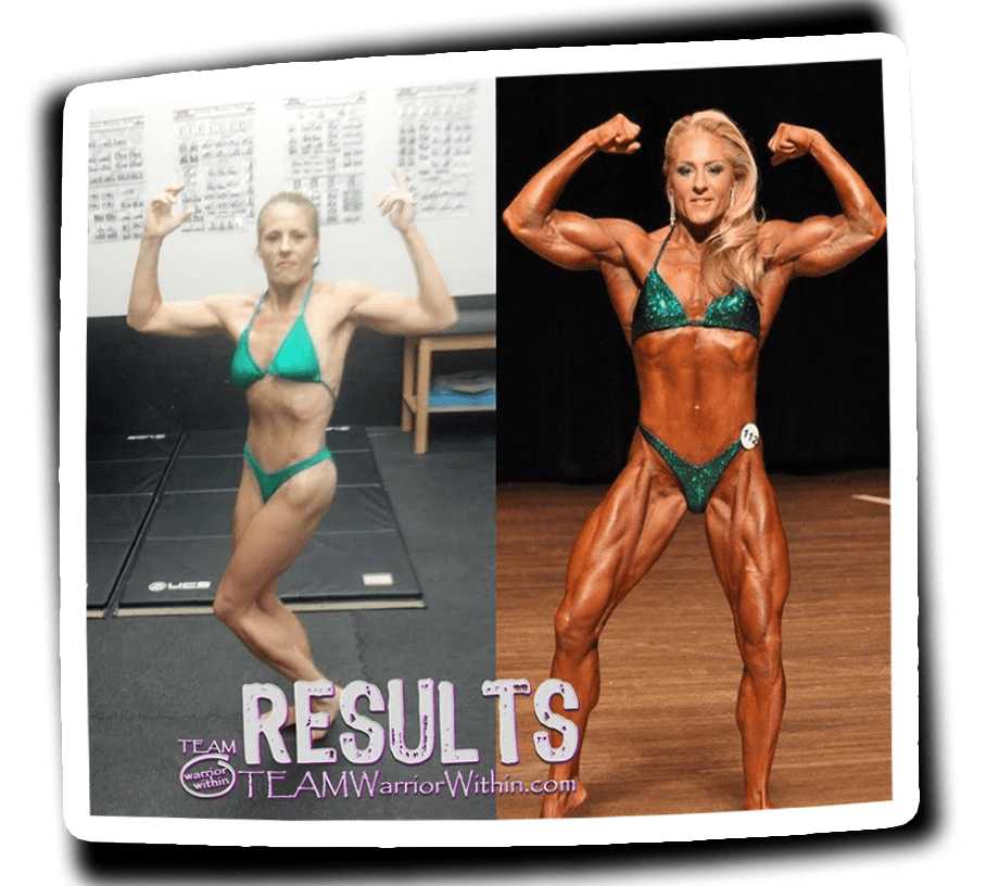 Donna McGinn - IFBB Pro - Muscle Gain - Columbia Maryland
