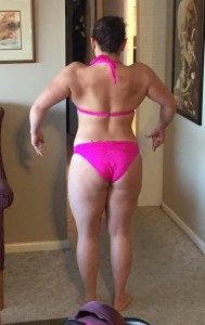 Erica Sigwalt - Before - Competition Personal Training Client