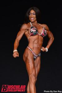 Felecia Murray IFBB Pro - Before and After - online coaching personal training