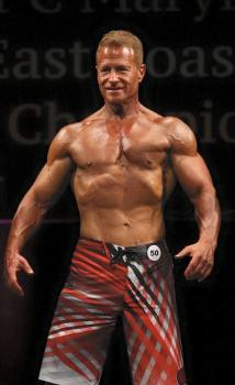 Jerry Freishtat - Men's Physique Competitor - After - Maryland NPC Bodybuilding