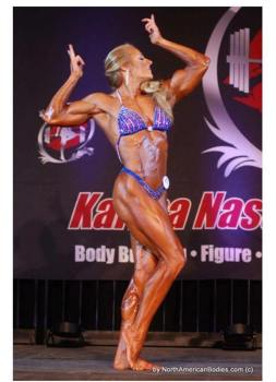 Donna McGinn - After - Womens Bodybuilding IFBB Pro - Maryland