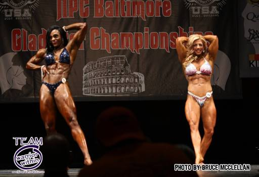 Nicole Moore - Stacey Wagner- Maryland NPC Womens Physique Competitor